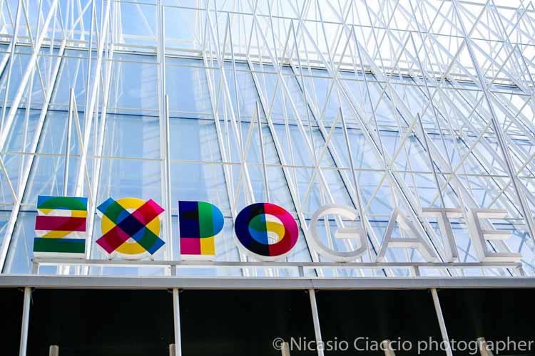 Fotografia Expo, expo gate, particolare